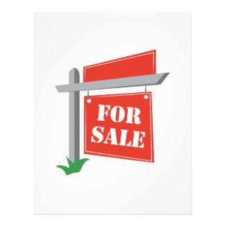 For Sale Letterhead