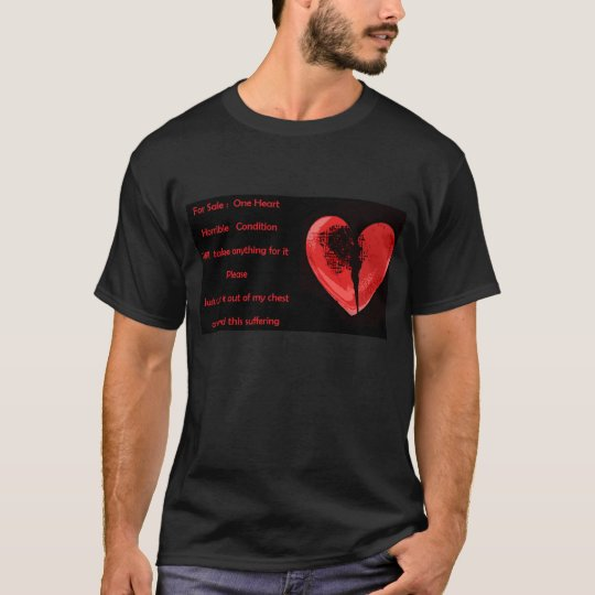 For Sale : One Heart Tshirt