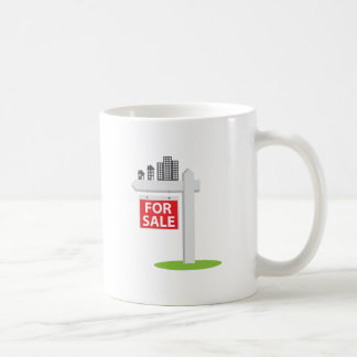 For Sale Sign Coffee Mug