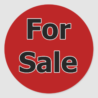 For Sale Stickers
