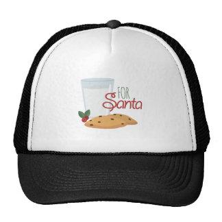 For Santa Trucker Hat