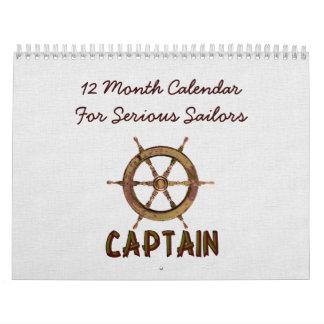 For Serious Sailors Calendar