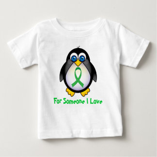 For Someone I Love Green Ribbon Gift T-shirt