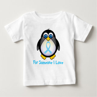 For Someone I Love Turquoise Ribbon Gift Baby T-Shirt