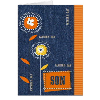 For Son on Father´s Day Card