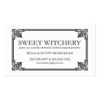 For Sweet Witchery Business Card Templates