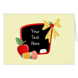 For Teacher (customizable) Card