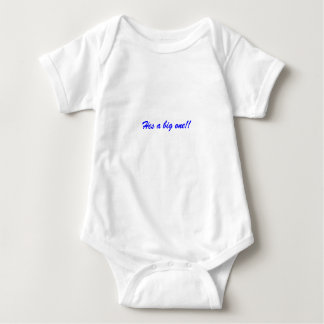 For that growing boy baby bodysuit