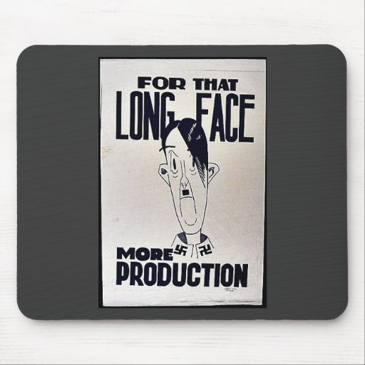 For That Long Face Mouse Pad