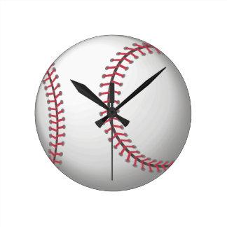 For the ball sport lover / sports person: Baseball Wallclocks