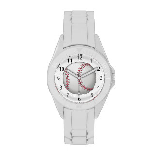 For the ball sport lover / sports person: Baseball Wrist Watches