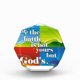 For The Battle Is Not Yours But Gods Award