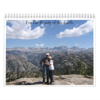 For the Beauty of the Earth Wall Calendar