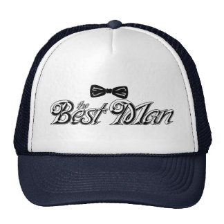For the Best Man Trucker Hat