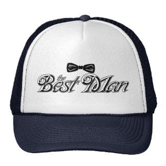 For the Best Man Trucker Hat