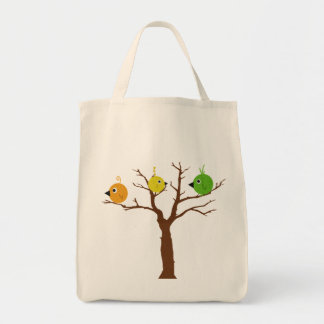 For the Birds Grocery Tote Bag