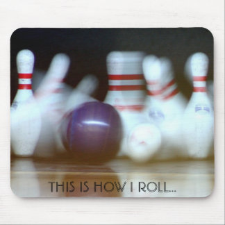 For the bowlers in the family mouse pad