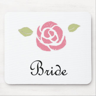 For the Bride Mouse Pad