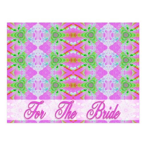 For the Bride Post Cards