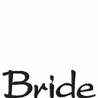 For the Bride to Be Embroidered Polo Shirt
