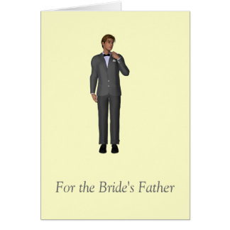 For the Bride's Father Cards