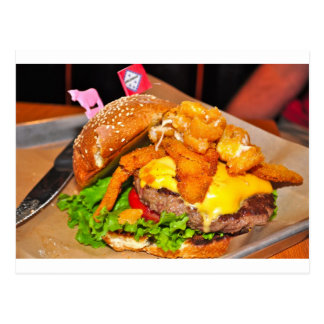 For the Burger Lover in Your LIfe Postcard