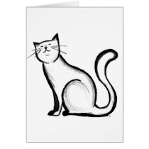 For the Cat Lover Card