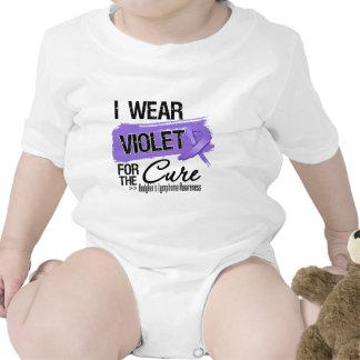 For The Cure Hodgkins Lymphoma Ribbon Bodysuit