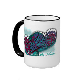 for the day of the love ringer coffee mug
