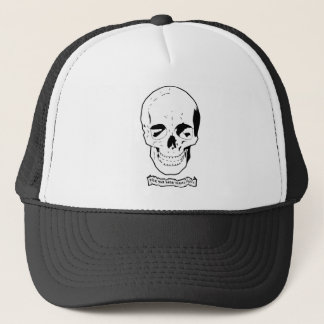 For the dead travel fast trucker hat