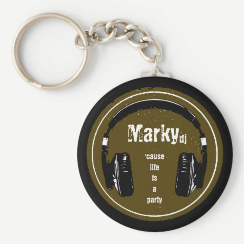 for the dj keychain