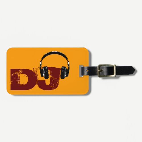 for the DJ Luggage Tag