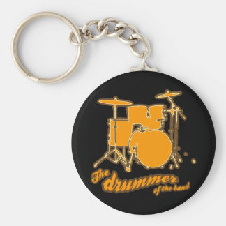 For the drummer keychain
