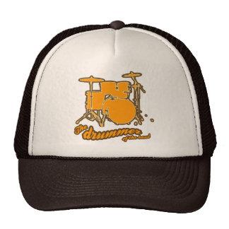For the drummer trucker hat
