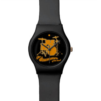 for the drummer wrist watch