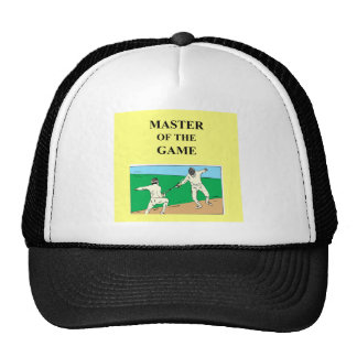 for the fencer trucker hat