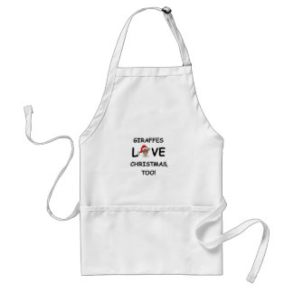 For the GIRAFFE collector for Christmas! Adult Apron