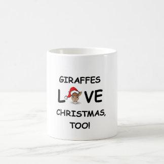 For the GIRAFFE collector for Christmas! Coffee Mug