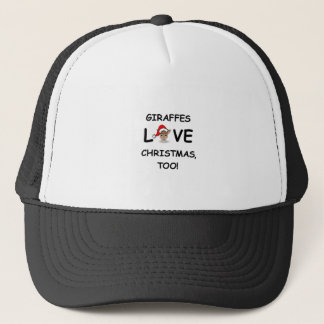 For the GIRAFFE collector for Christmas! Trucker Hat