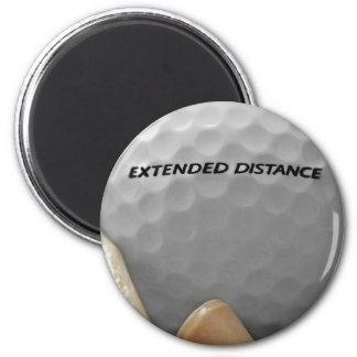 For the Golf Lover 2 Inch Round Magnet