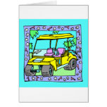 For The Golfer Designs Greeting Card