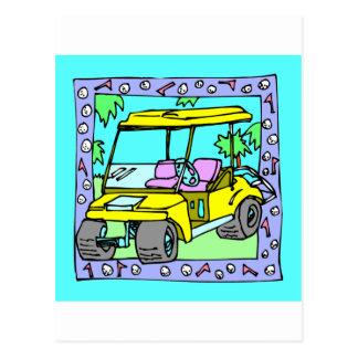 For The Golfer Designs Postcard