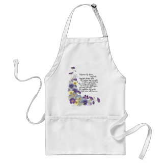 For the graduate adult apron