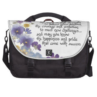 For the graduate laptop bag