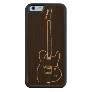 for the guitar-player carved cherry iPhone 6 bumper case