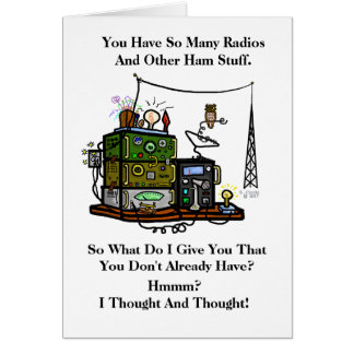 For The Ham Who Has Everything Birthday Card