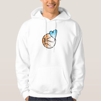for the heart of.. BASKETBALL Hoodie