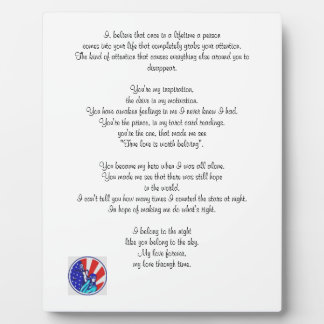 For The Hero In You Plaque