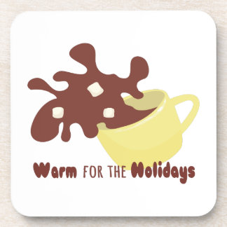 For The Holidays Beverage Coaster