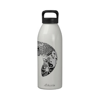 For the Horse Lover , Horse Collection Reusable Water Bottle